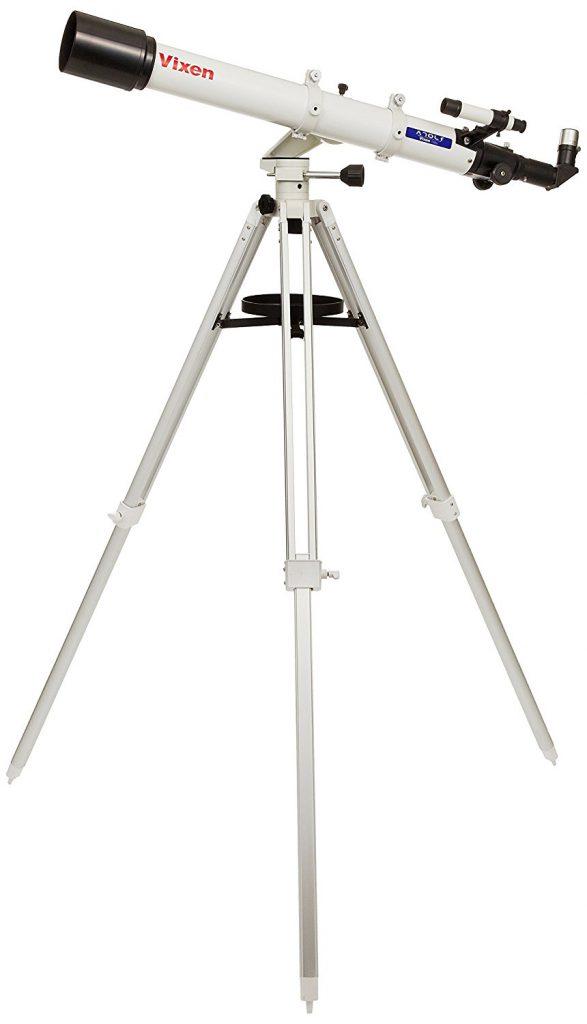 女性におすすめ天体望遠鏡/Vixen 天体望遠鏡 ミニポルタ A70Lf 口径70mm 焦点距離900mm 経緯台式 39941