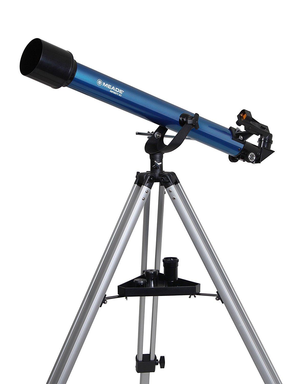 女性におすすめ天体望遠鏡/MEADE(ミード)AZM-60 星空散歩ライトII 観測キット