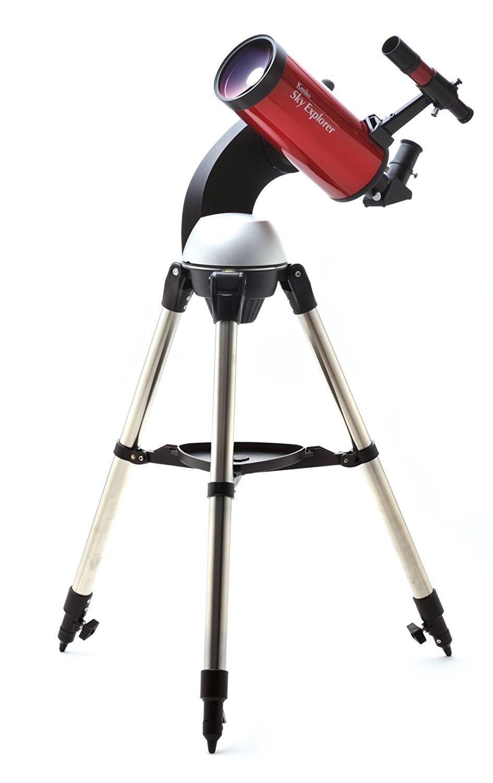女性におすすめ天体望遠鏡/Kenko/スカイエクスプローラー SE-GT102M・自動導入機能付きマクストフカセグレン式
