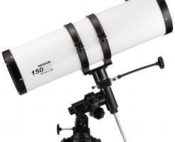 女性におすすめ天体望遠鏡/MIZAR-TEC(ミザールテック)LTH-150SS・反射式 口径150mm 焦点距離750mm 赤道儀マウント