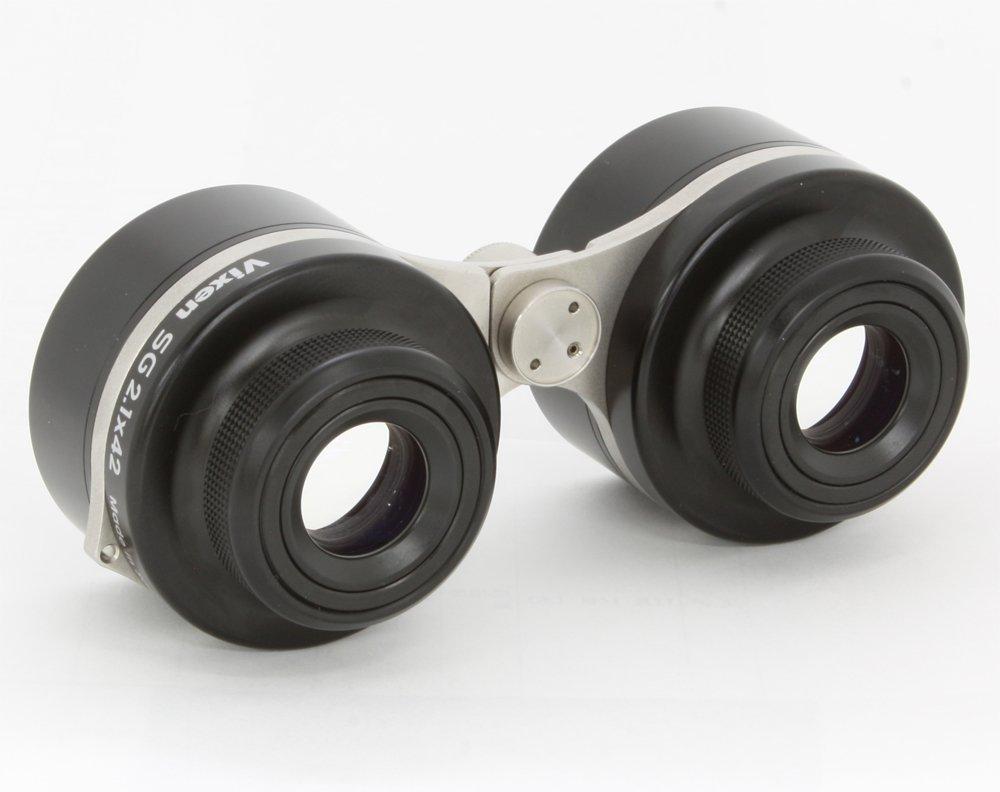 メガネOK!子供でも簡単に天体観測できる超広視野の双眼鏡【Vixen・G2.1×42】