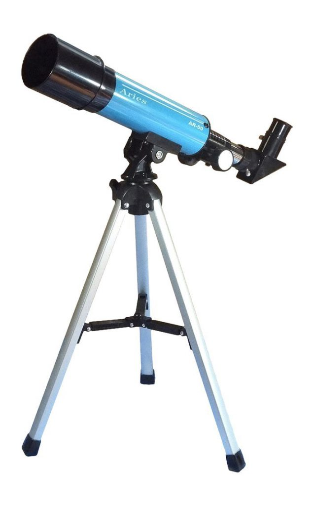 子供向け月の観測に最適の天体望遠鏡、最安値!これ以上安い天体望遠鏡だと綺麗に見えない・MIZAR(ミザールテック)