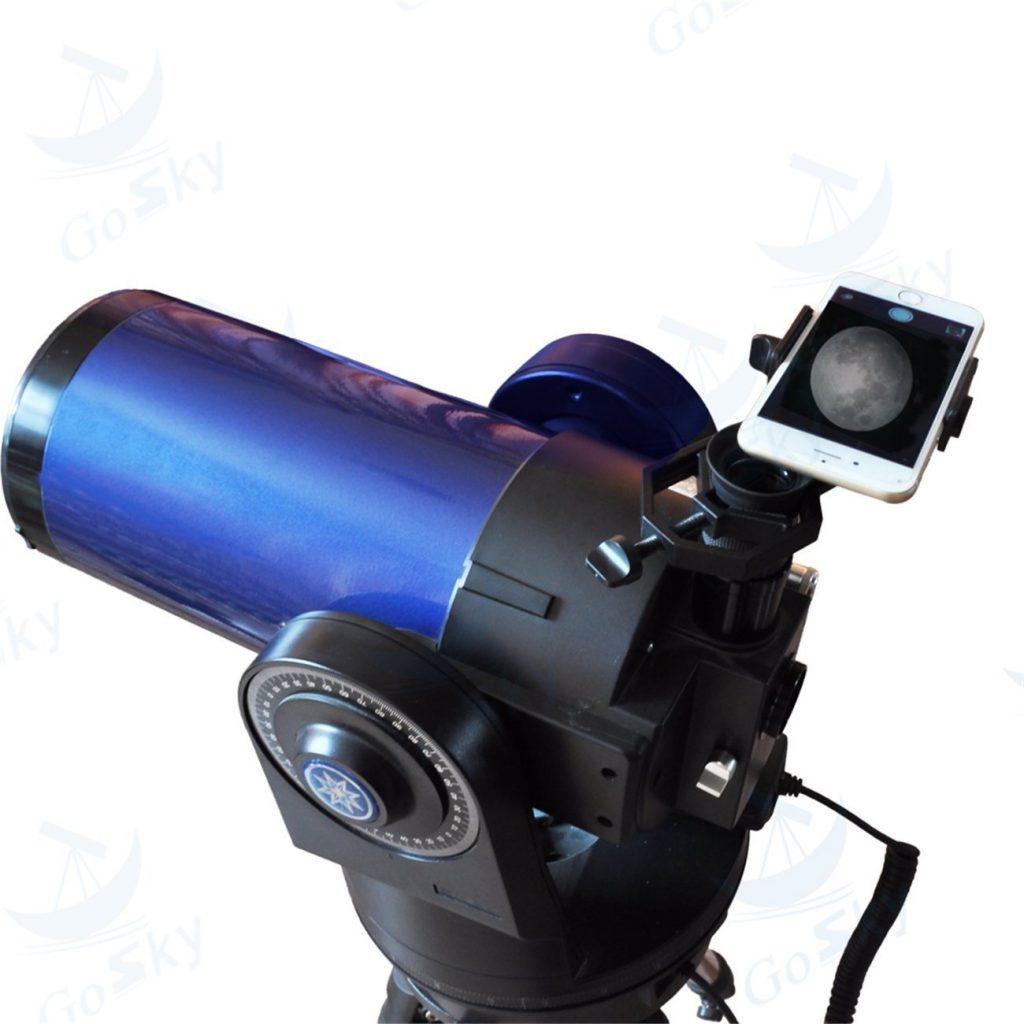 スマートフォンアダプター 天体撮影